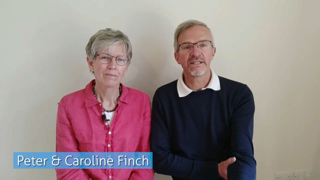 Peter and Caroline Finch